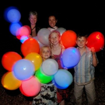 Magic Light Up Balloons